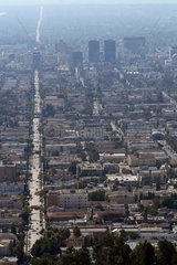 Los Angeles  USA  Blick ueber die North Normandie Avenue
