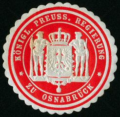 Siegelmarke Osnabrueck  um 1895