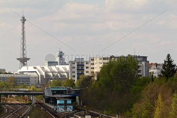 Berlin  Deutschland  Blick Richtung Berlin-Westend
