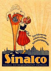Sinalco Werbung  um 1911