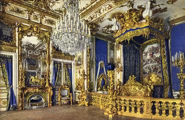 Schlafzimmer  Schloss Herrenchiemsee  1910