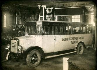 Mannesmann Omnibus  Ausstellung Leningrad  1925