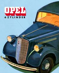 Opel Sechszylinder  1935