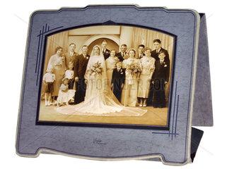 Hochzeitsfoto  USA  1936