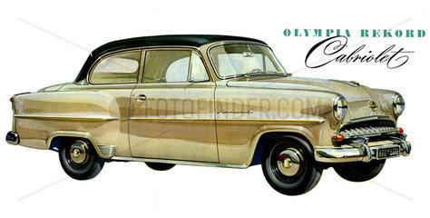 Opel Olympia Rekord  1955