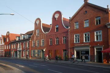 Potsdam  Deutschland  Haeuser im Hollaendischen Viertel