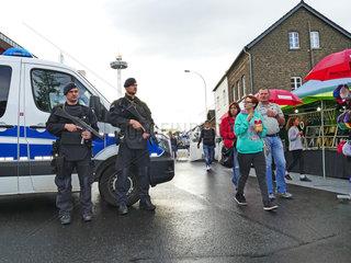 Polizeischutz bei Grossveranstaltungen