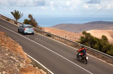 Betancuria  Spanien  Landschaft auf der Kanareninsel Fuerteventura
