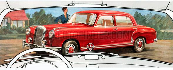 Mercedes Benz 220 S  1956