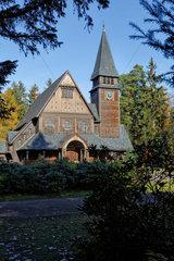 Stahnsdorf  Deutschland  Kapelle Stahnsdorfer Suedwest-Kirchhof