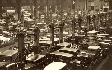 Internationale Automobilausstellung  um 1929