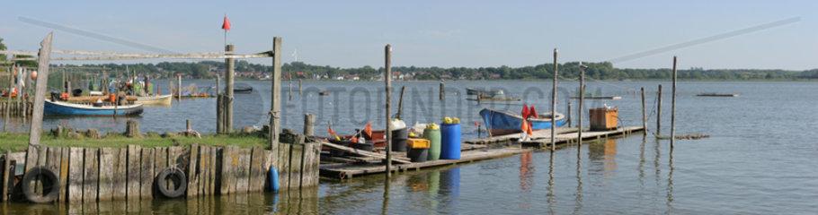 Schleswig  Deutschland  das Fischerviertel Holm am Rande der Alstadt