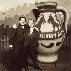 Fernsehshow Zum Blauen Bock  um 1959