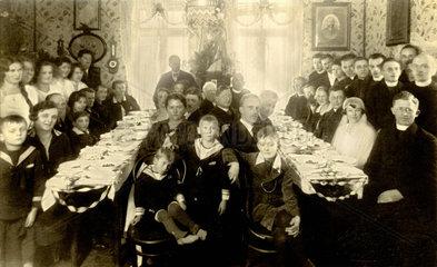 Hochzeitsfeier  Boehmen  um 1923