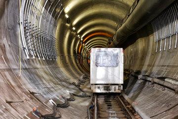 Berlin  Deutschland  U5-Tunnelbaustelle