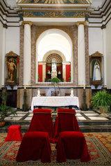 Arta  Mallorca  Spanien  Altar der Santuari de Sant Salvador