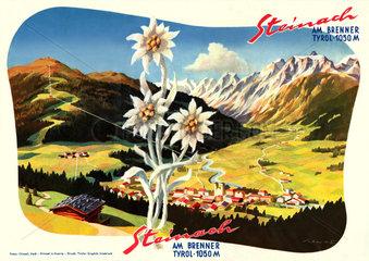 Steinach  Tirol  Touristenwerbung  1960