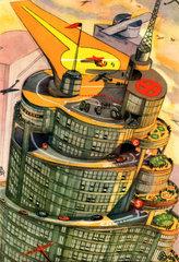 Zukunftsvision Wolkenkratzer 1930