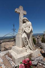 Bonnieux  Frankreich  auf dem Friedhof von Bonnieux