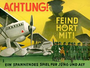 Achtung! Feind hoert mit! Gesellschaftsspiel 1940