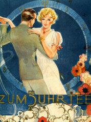 Paar beim Tanzen  1932