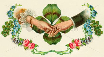 Symbol Ehe  Liebe  1906