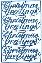 Christmas Greetings  um 1905