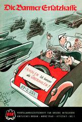 Mitgliedszeitschrift Barmer Ersatzkasse 1960