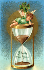 A Happy New Year  USA  1905