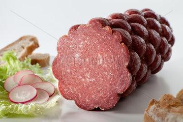 Riedlingen  Deutschland  Salami