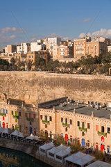 Valletta  Republik Malta  Blick auf La Valletta