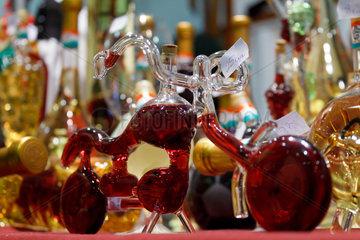 Berlin  Deutschland  Stand der Exklusiv Wine Glass KG auf der Gruenen Woche