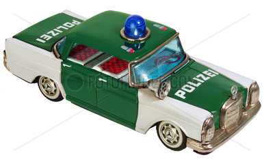 altes Polizeiauto  Spielzeugauto  um 1966