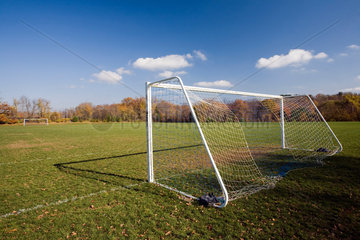 Wilton  USA  ein Fussballfeld