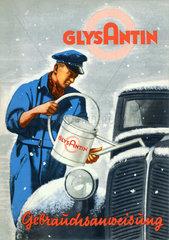 Frostschutzmittel  1938