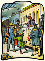 Zugankunft  1897