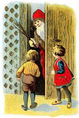 Nikolaus  Weihnachtsmann  1928
