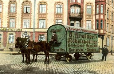 Moebelspedition  1913