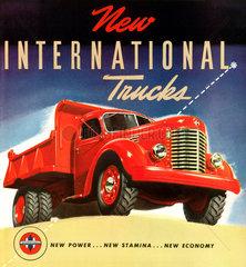 LKW-Werbung  USA  1941