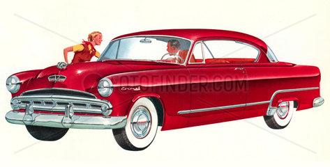 Dodge Autowerbung 1953
