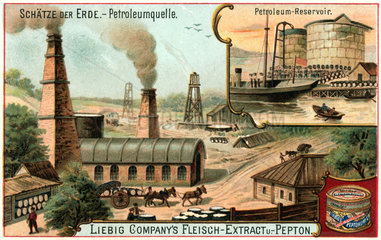 Petroleumquelle  um 1900