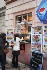 Imbiss in Prag