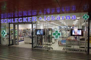Schleckerfiliale in Prag