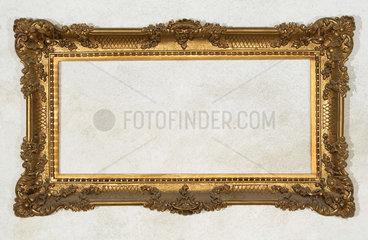 alter goldener Bilderrahmen  um 1910
