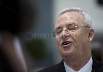 Martin Winterkorn  Hauptversammlung Volkswagen