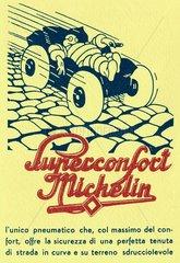 Reifenwerbung Michelin  um 1920