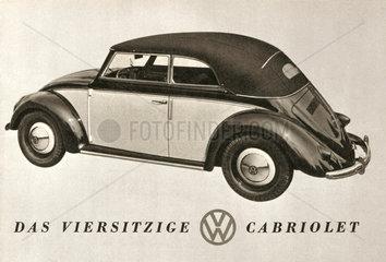 VW Kaefer Cabrio  1949