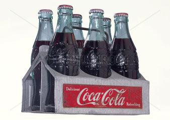 Coca-Cola-Metalltraeger  um 1953