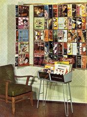 Schallplatten-Verkauf  1955