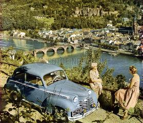 Opel Olympia  Heidelberg  1951